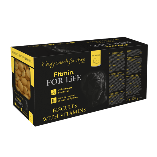 Fitmin dog biscuits multipack (6 x 200 g)