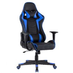 pisarniški stol Player, črn/moder