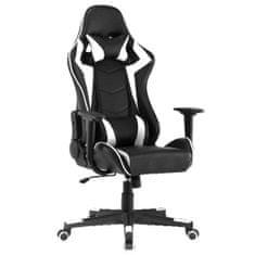 pisarniški stol Player, črn/bel