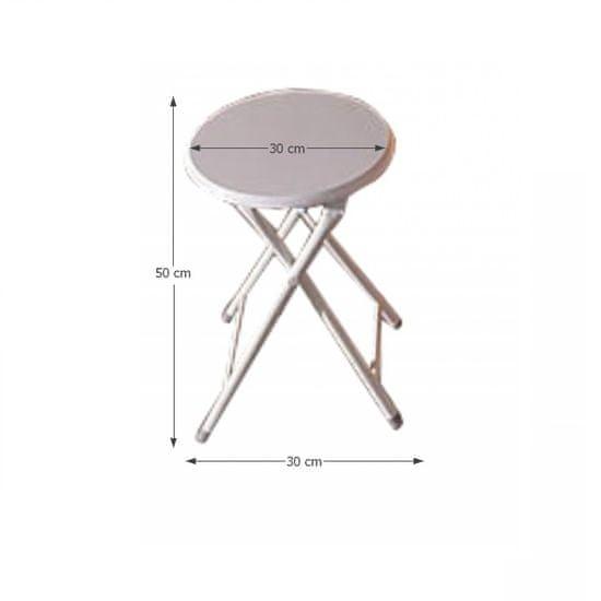 KONDELA Amadeo jedálenská stolička biela