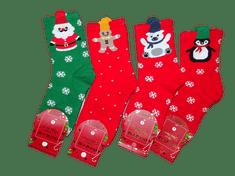 AuraVia Vánoční ponožky Auravia, náhodný výběr 1 pár., 24 - 27