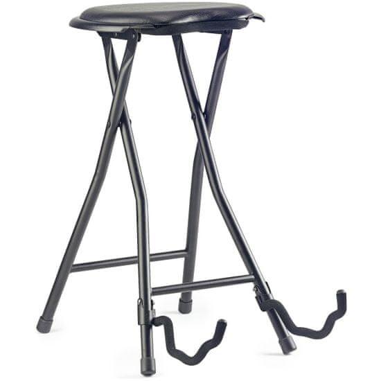 Stagg GIST-300, stolička skládací s kytarovým stojanem