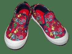 MARVEL Chlapecká obuv s bílou podrážkou a motivem Avengers., 27