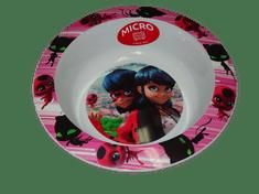 Miraculous Ladybug Dětská miska s obrázkem Kouzelná beruška.