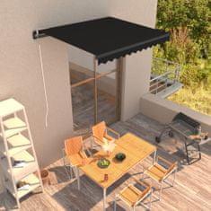 shumee Ročno zložljiva tenda 300x250 cm antracitna