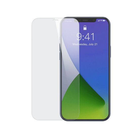 BASEUS 2x ochranné sklo na iPhone 12 Pro Max