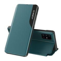 MG Eco Leather View usnjeni ovitek za Huawei P40 Lite, zelena
