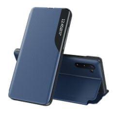 MG Eco Leather View knjižni ovitek za Huawei P40, modro