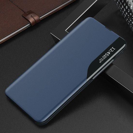 MG Eco Leather View knjižni ovitek za Xiaomi Poco X3 NFC, modro