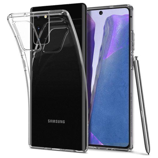 Spigen Liquid Crystal silikónový kryt na Samsung Galaxy Note 20, priesvitný
