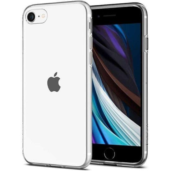 Spigen Liquid Crystal silikonski ovitek za iPhone 7/8/SE 2020, pregleden