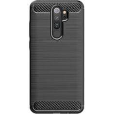 Ovitek za Xiaomi Redmi Note 9, silikonski, črn