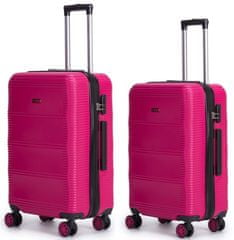 Swiss Sada kufrů X Rose Red 2-set S+L