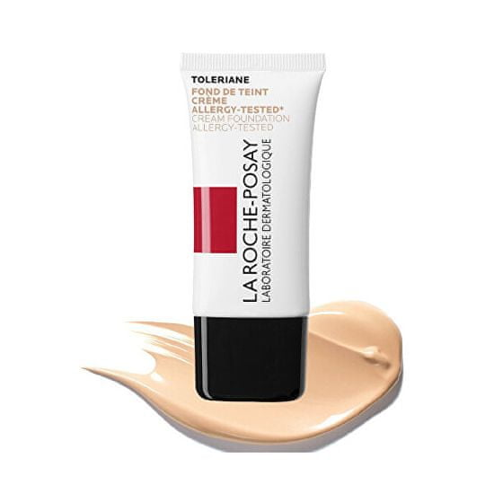 La Roche - Posay Krem nawilżający do makijażu Toleriane SPF 20 ( Foundation Allergy -Tested) Cream ( Foundation Aller