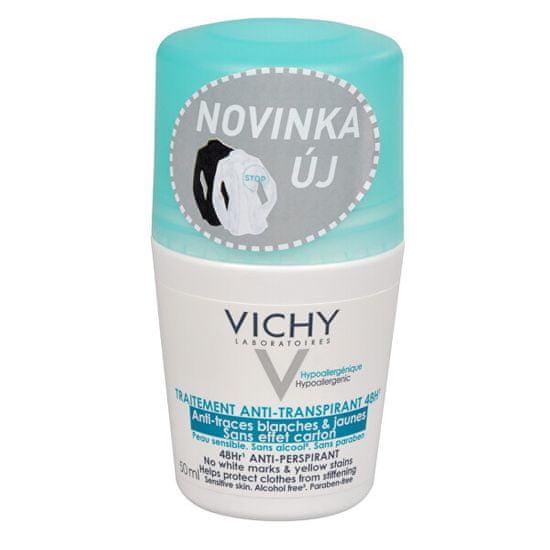 Vichy 48-urni kroglični antiperspirant proti belim in rumenim lisam 50 ml