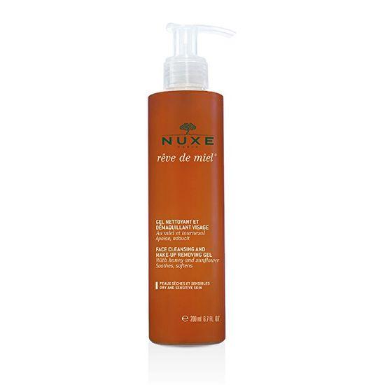 Nuxe Šetrný odličovací gél Reve de Miel (Facial Cleansing and Make-Up Removing Gel) 200 ml