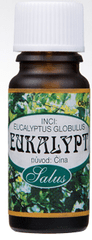 Saloos 100% přírodní esenciální olej pro aromaterapii 10 ml (Varianta Eukalyptus)