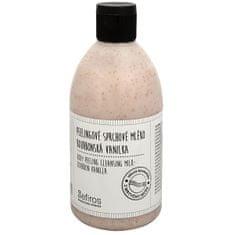 Sefiros Peelingové sprchové mléko Bourbonská vanilka (Body Peeling Cleansing Milk) 500 ml
