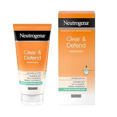 Neutrogena (Oil-Free Moisturiser) krem (Oil-Free Moisturiser) z kwasem salicylowym Clear & Defend (Oil-Free Moi