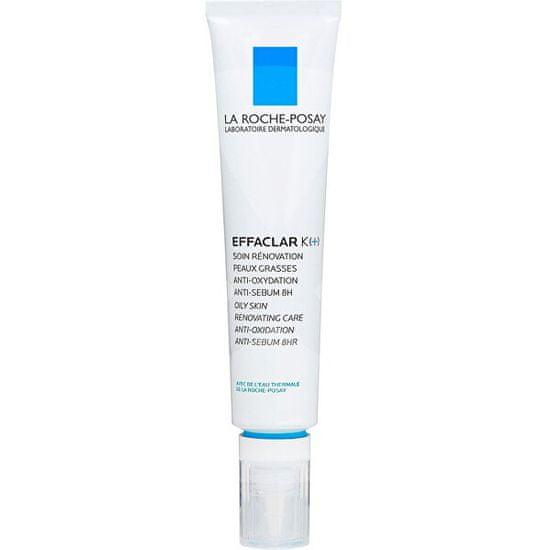 La Roche - Posay Effaclar K+ frissítő és mattító hatású krém zsíros, problémás bőrre (Renovating Care) 40 ml
