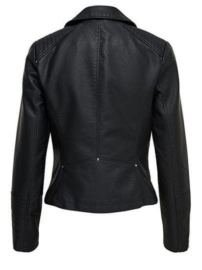 ONLY Kurtka damska Leather Look Jack et Black