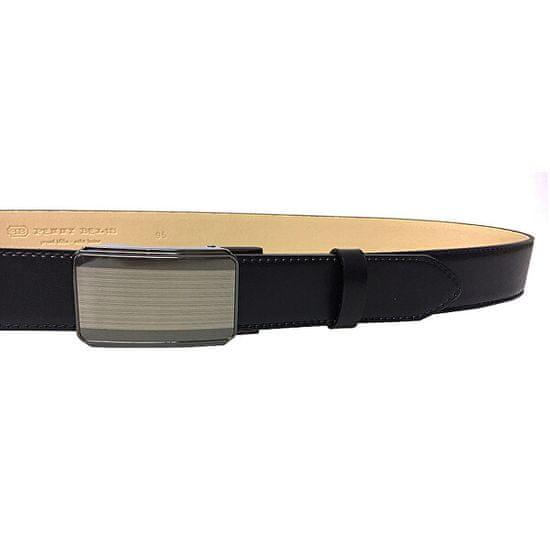 Penny Belts Moški usnjeni pas za pas 35-020-A11 črn