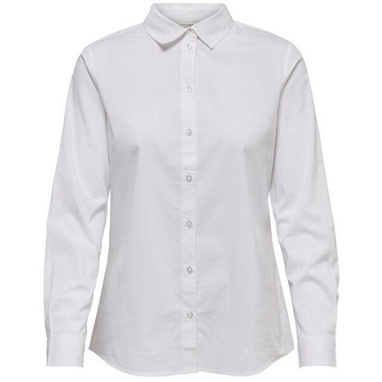 Jacqueline de Yong Női ing Mio L/S Shirt Wvn Noos White