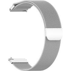 4wrist Milánský tah - Stříbrný (Šířka 18 mm)