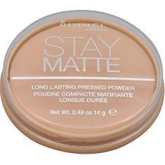 Rimmel Matte Matte Stay Matte 14 g (Odtenek 001 Transparent )