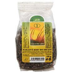 Country Life Bio Kakaové bôby nepražené drvené 100 g
