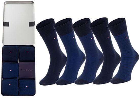 Tommy Hilfiger 5 PAKET - moške nogavice 100000846-002