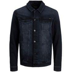 Jack&Jones Moška jakna JJIALVIN JJJACKET AGI 12166867 Blue Denim (Velikost XL)