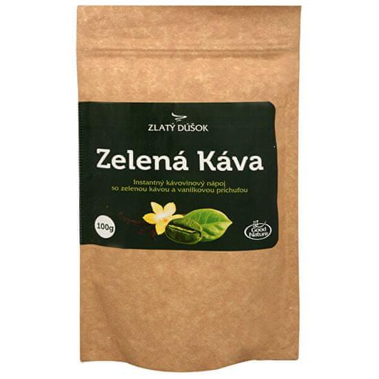 Good Nature Zlatý doušek - Zelená káva s vanilkou 100 g