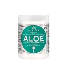 Kallos Obnovující maska s Aloe Vera (Aloe Vera Moisture Repair Shine Hair Mask) (Objem 1000 ml)
