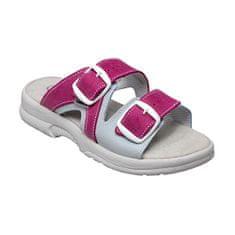 SANTÉ Zdravotná obuv dámska N / 517/55/079/016 / BP ružovo-šedá (Veľkosť 37)