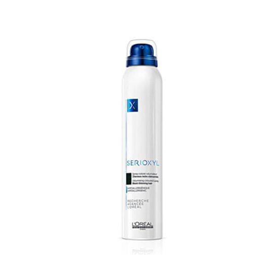 Loreal Professionnel Serioxyl Volumizing Coloured hajszínező spray ritkuló hajra (Denser Hair Spray) 200 ml