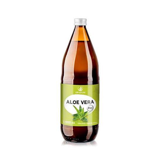Allnature Aloe vera - 100% Bio šťava 1 l