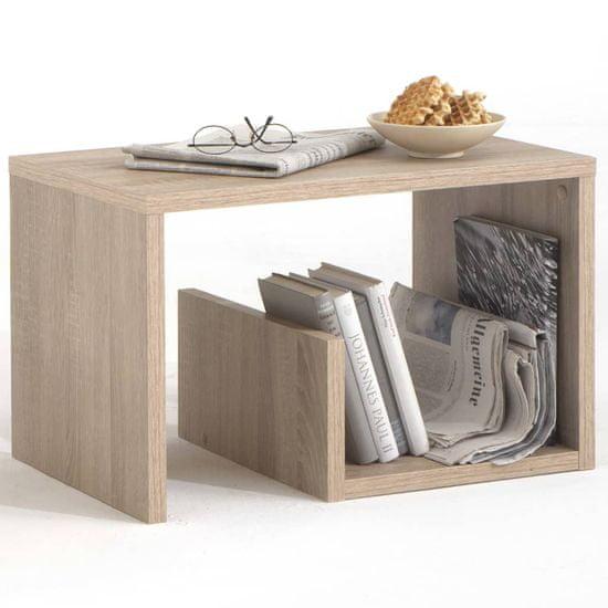 shumee Klubska miza FMD 2 v 1, 59 x 36 x 38 cm, hrast, 632-001
