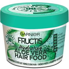 Garnier Hidratáló maszk normál és száraz hajra Fructis (Aloe Vera Hair Food) 390 ml