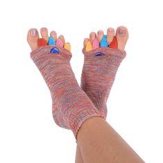 Pro nožky Adjustačné ponožky MULTICOLOR (Veľkosť M)