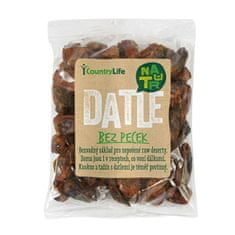 Country Life Datle sušené bez pecek (Varianta 250 g)