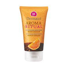 Dermacol Harmonizáló testradír Belga csokoládé naranccsal 150 ml
