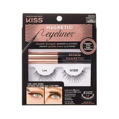 KISS Magnetni (Magnetic Eyeliner & Lash Kit) (Varianta 07 Charm)