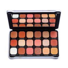 Makeup Revolution Forever brezhibna paleta senčil za oči 19,8 g (Odtenek Decadent)