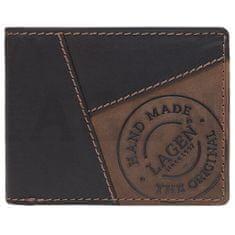 Lagen Moška usnjena denarnica 51148 BRN