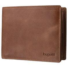 Bugatti Moška denarnica Volo 49217807 konjak