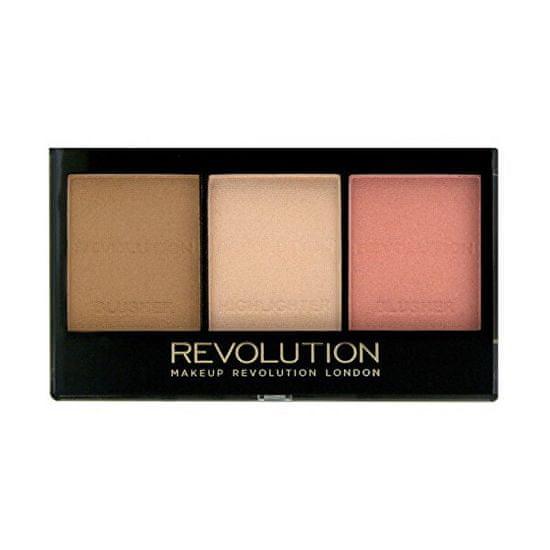 Makeup Revolution ( Ultra Brightening Contour Kit)
