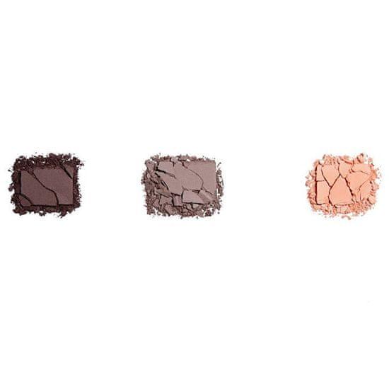 Makeup Revolution Cień do powiek paleta Ponownie załadowany (Palette Basic Mattes) 15 x 1,1 g