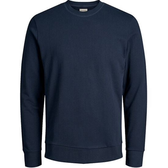 Jack&Jones Moška pulover JJEHOLMEN 12136886 Navy Blaze r