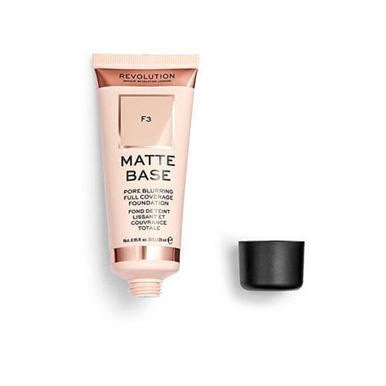 Makeup Revolution (Matte Base Foundation) 28 ml